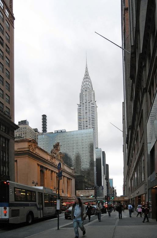 マンハッタンの摩天楼ビル